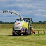 Grasmaaier landbouw voertuig
