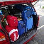 vakantiebagage in je auto